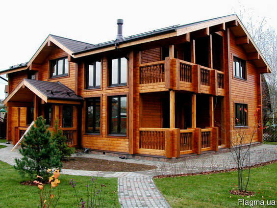 Деревянные бани, сауны, дома. Строительство под ключ.