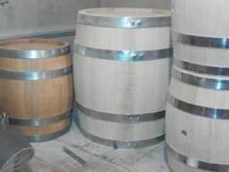 Деревянные бочки из дуба для вина и солений. - фото 3