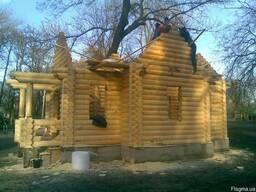 Деревянные дома, бани в Одессе