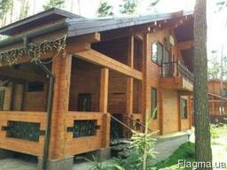 Деревянные дома из клееного бруса