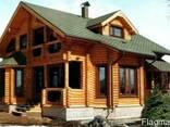 Деревянные дома из клееного бруса и оцилиндрованного бревна - фото 2