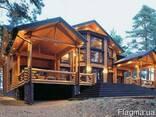 Деревянные дома из клееного бруса и оцилиндрованного бревна - фото 4