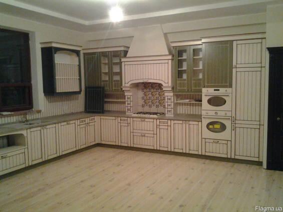 Деревянные кухни под заказ