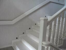 Деревянные лестницы на заказ - фото 2