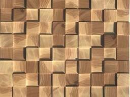 Деревянные настенные 3d панели
