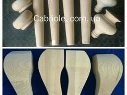 Деревянные ножки для стола ,ножки для мебели.
