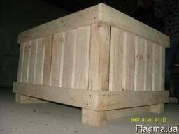 Палетная заготовка, деревянная тара