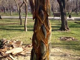 Деревянные резные фигуры скульптуры