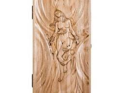 Деревянные резные нарды «Дева»Код: НР-11