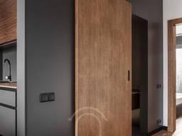 Деревянные Скрытые Flash двери Скрытая раздвижная система.