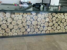 Деревянные срезы для садовых дорожек и декоративные