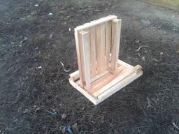 Деревянная тара ящик яблочный однорядка