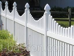 Деревянные заборчики для частного сектора, сада, клумбы - фото 4