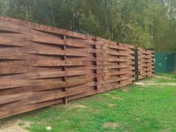 Деревянные заборчики для частного сектора, сада, клумбы - фото 6