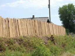 Деревянные заборы и ограждения харьков