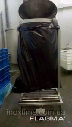 Держатель для мусорных пакетов с крышкой