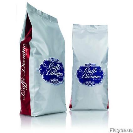 Десертное итальянское кофе Diemme Miscela Rosso. Фасовка -1