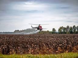 Десикация с помощью сельхоз авиации