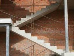 Деталі сходів та майданчиків ЛПФ-25-10-5