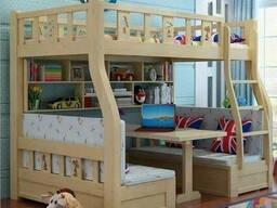Детская деревянная кровать под заказ