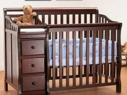 Детская деревянная кровать с ящиками Код: ДК-4 Под заказ