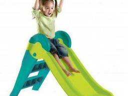 Детская горка Keter Boogie Slide ( Without Base ) Light-Green with Turquoise (. ..