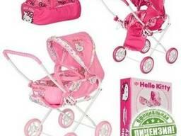 Детская игровая коляска Hello Kitty 0025