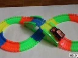 Детская игрушечная дорога машинка Magic Track (165 детале