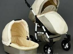 Детская коляска 2 в 1 Viki Saturn Victoria Gold беж/капучино