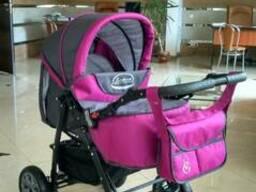 Детская коляска-трансформер Viki Karina Victoria Gold