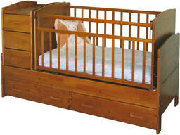 """Детская кровать из массива """"Микки"""""""