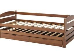 """Детская кровать из натурального дерева """"Ирис"""".Бук, сосна,дуб"""