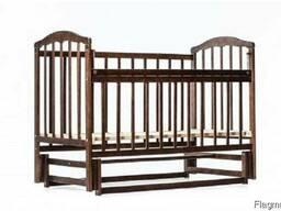 Детская кроватка Лама. Детская кровать поперечный маятник. - фото 2