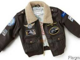Детская летная куртка Boeing Brown Aviator Jacket