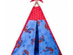 Детская палатка для дома вигвам Красный, Голубой, Синий