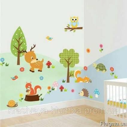 Детская виниловая наклейка на стену. (010)