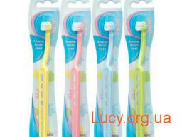 Детская зубная щетка мягкая Ekulf Twice Baby Soft от 0 до. ..