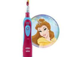 Детская зубная щетка на батарейках Braun Oral-B Stages Power DB4 Princess Принцессы. ..