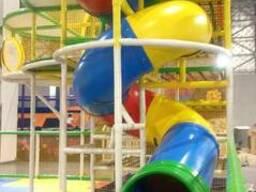 Детские горки из пластика - ТМ «Укрхимпласт»