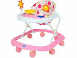 Детские Ходунки Bambi музыкальные (Розовый) (M 4167(Pink))