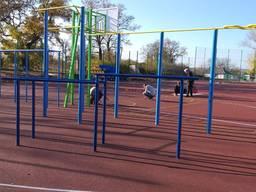 Детские игровые, спортивные площадки.