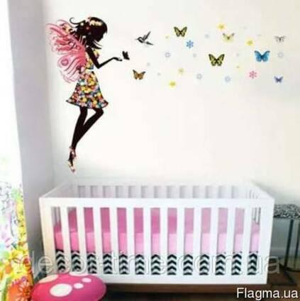 Детские интерьерные наклейки на стену в детскую комнат (048)