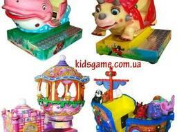 Детские качалки премиум класса Kiddy Rides