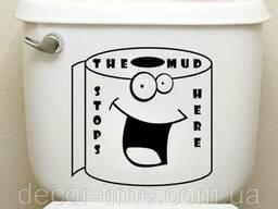 Детские наклейки на стены, шкафчик, туалет (077)
