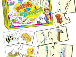 "Детские Пазлы ""Puzzle №6"" Мастер (MKC0232)"
