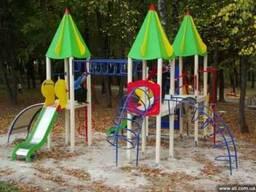 Детские площадки(качели, горки, песочницы и мн. др.)