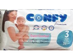 Детские подгузники Confy 3(4-9кг)