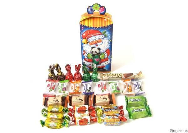 Детские сладкие Новогодние подарки, Настроение, 450 г