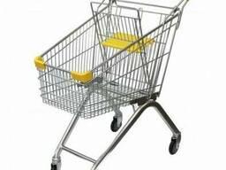 Купівельні візки 80 літрів для магазинів та супермаркетів, нові гарантія