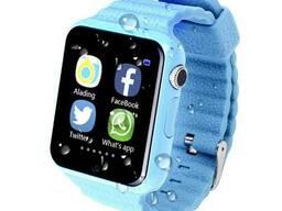 Детские умные телефон-часы (смарт часы) V7K Smart Watch с...